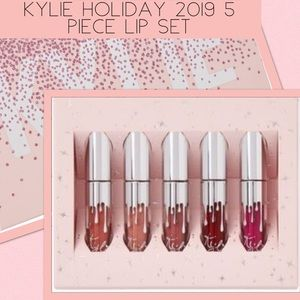 KYLIE COSMETICS Kylie Holiday 5 Piece Lip Set